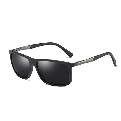 WZYMNTYJ Männer Polarisierte Sonnenbrille, die männliche Sonnenbrille fährt Einzigartige quadratische Brille mit UV400-Schutz 2220 Clip