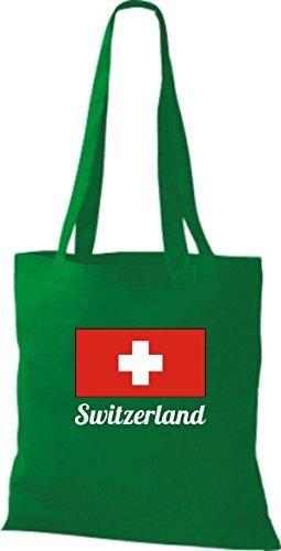 T-shirt Di Cotone T-shirt Di Cotone Juta Svizzera Svizzera Colore Rosa Kelly
