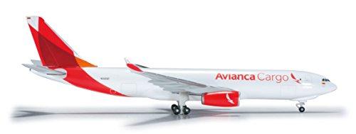 Herpa 526180 - Avianca Cargo Airbus A330-200F, Miniaturmodell