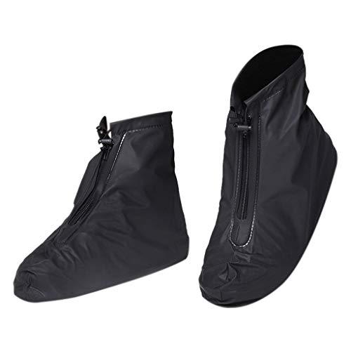 Damen Herren PVC schuhe deckt regen schneestiefel abdeckung wiederverwendbare rutschfeste abdeckung wasserdicht Stahlkappen Freizeit Sportlich Wasserdicht Business Slip On High Top Schuhe