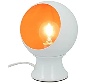 Lampe de chevet fluo pop orange