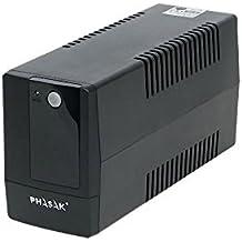 Phasak PH9408 - Sistema de alimentación ininterrumpida (800 VA), Negro