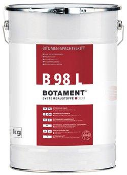 Botament Bitumen Spachtelkitt B 98L 5kg