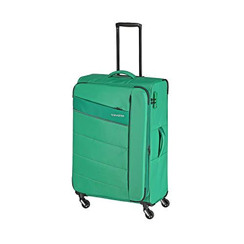 """Travelite Extrem leicht: \""""KITE\"""" - sportlich-klassische Trolleys, Trolley-Reisetaschen und Bordtaschen Koffer, 75 cm, 95L, Grasgrün"""