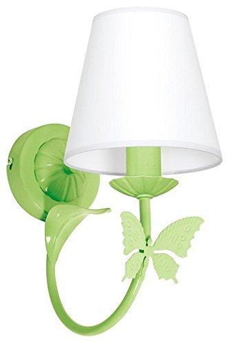 MINI MOTYL I / Schmetterling Hellgrün Wandleuchte Wandlampe Lampe Kinderzimmerleuchte Kinderzimmerlampe