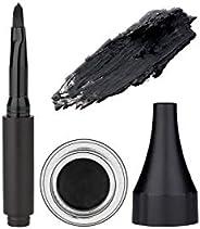 SUGAR Cosmetics Born To Wing Gel Eyeliner - 01 Blackmagic Woman Smudge-Proof,Rich Matte Finish