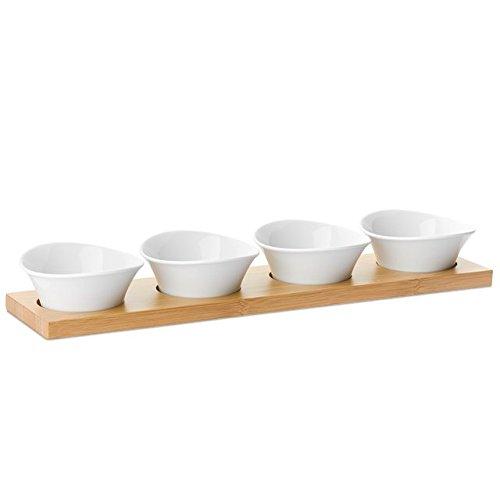 zwilling-porzellan-dip-set-m-4-schusseln-u-tablett-aus-bambus-gratis-kochfeldreiniger-vwenko-125ml