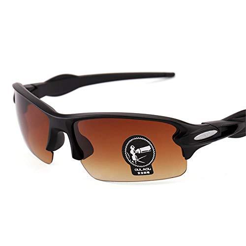Outdoor-Reitbrille Männer und Frauen Fahrradbrille UV400 Angeln, Laufen, Fahren, Golf @ 1
