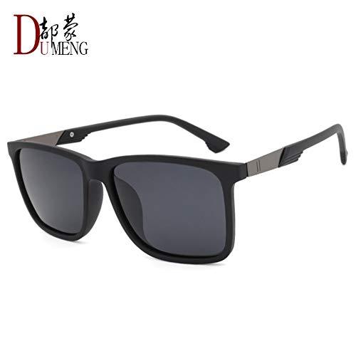 Preisvergleich Produktbild Sonnenbrille Für Männer High Fashion Polarisierte Felder Sonnenbrille Designer Outdoor Reisen Sport Lightweight Comfort Sommer Uv400 Sand Schwarz-Rahmen