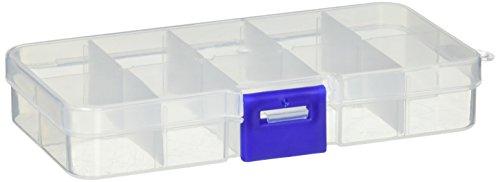 Teile Grid (Sourcingmap® 410Grid Transparent Kunststoff elektronische Komponenten Teile Aufbewahrungsbox Fall)
