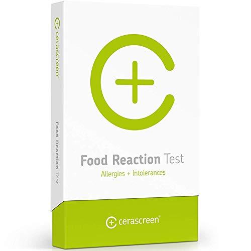 Lebensmittelallergietest von CERASCREEN - Nahrungsmittelallergien und Nahrungsmittelunverträglichkeiten schnell & einfach selbst testen I Zertifiziertes Labor I Detaillierter Ergebnisbericht