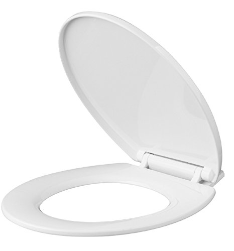 VINSANI SOFT SLOW CLOSE ROUND WHITE WC TOILET SEAT NEW IN BOX by Vinsani (Wc-sitz Round Soft)