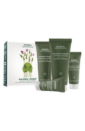 AVEDA Tourmaline Charged Starter Kit 4-Step Skin Care Set / 4-Stufen Hautpflege Set