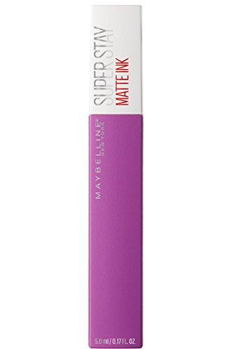 Maybelline New York Superstay Matte Ink Rossetto Matte Liquido Tinta Labbra a Lunga Tenuta, 35 Creator