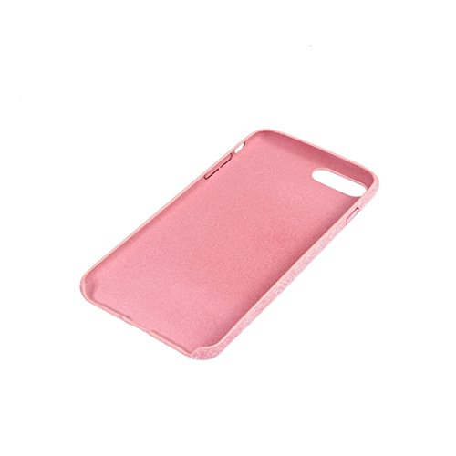 iPhone Case Cover Housse de protection pour iPhone 7 Plus Ultra Fiber + PC ( Color : Pink ) Pink