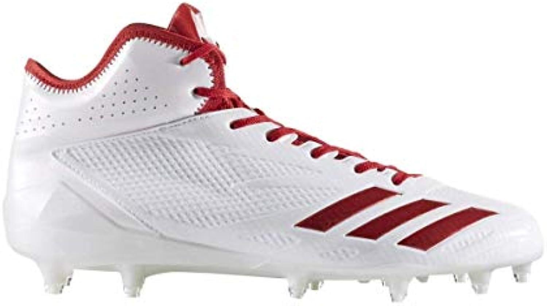 Adidas Adizero 5Star 6.0 Mid Cleat Men's Football 10 10 10 bianca-Power rosso-Power rosso | Imballaggio elegante e stabile  978c1b