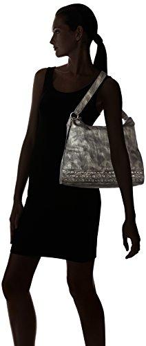 Tamaris - Ursula Hobo Bag, Borsa a spalla Donna Nero (nero)