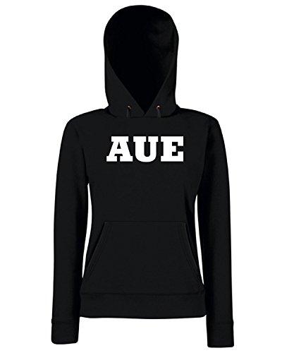 T-Shirtshock - Sweats a capuche Femme WC0783 AUE GERMANY FOOTBALL Noir
