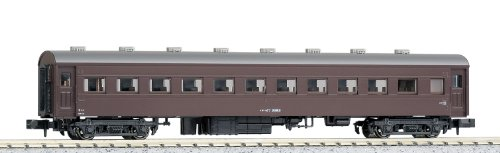 kato-5135-1-oha-47-passenger-coach-brown-toy-japan-import