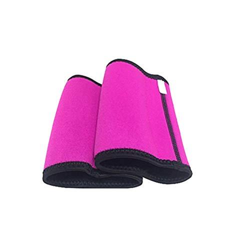Healifty Kompressionsarmband, Shaper, Sauna Anzug für Perder, Gewicht, Gymnastik, Größe L (Rosa)