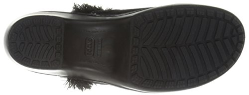 Crocs Cobbler Leather Clog Womens Black/black