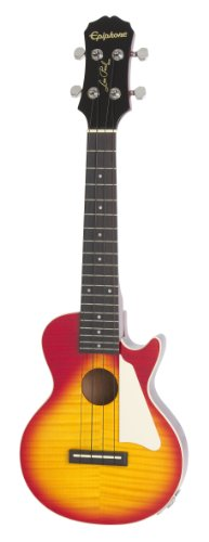 EPIPHONE LES PAUL ACOUSTIC/ELECTRIC UKULELE OUTFIT   GUITARRA ELECTROACUSTICA  COLOR HERITAGE CHERRY SUNBURST