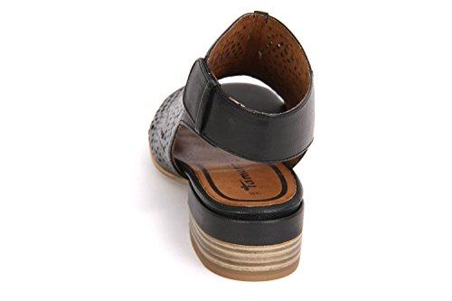 Tamaris 1-28217-28-001 Damen Sandale City schwarz BLACK (001)