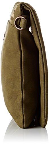 LPB Woman S17b0703, Sacs bandoulière Vert (Kaki)