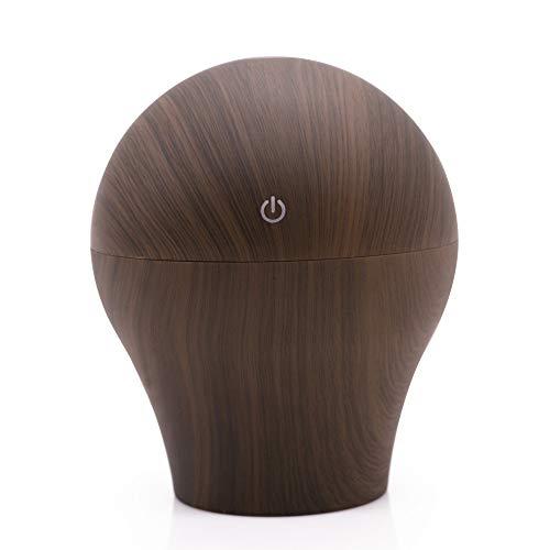 SPFAZJ Luftbefeuchter Aroma Luftbefeuchter Retro Trophy Holz Getreide USB-Bunte Atmosphäre Lampe Luftbefeuchter Creative USB Aromath Erapy Maschine (Honeywell Luftbefeuchter Lampe)