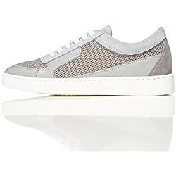 FIND Zapatillas de Deporte Para Mujer, Gris (Grey), 38 EU