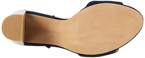 Kenneth Cole Dess, Scarpe Col Tacco con Cinturino a T Donna Blu (Marine)