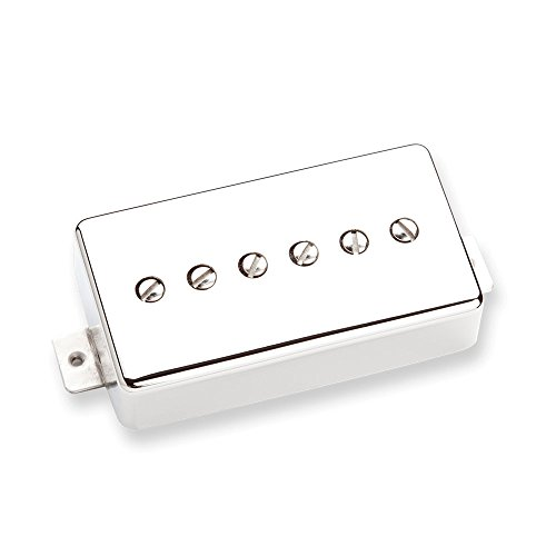 Seymour Duncan SSPH90-1N NCOV 2C SSPH90-1N Phat Cat Great P-90 - Tonabnehmer Cover nickel (Duncan Cover Seymour Nickel)