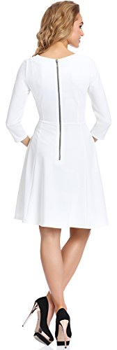 Merry Style Femme Robe Telimena Ecru