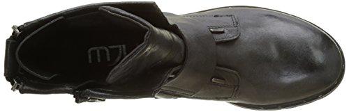 Mjus Damen 190206-0101-6002 Combat Boots Schwarz (Nero)