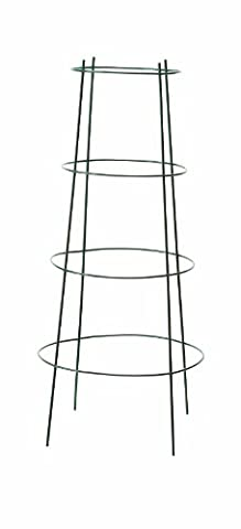 Panacea Products 89702 Professional Gauge Inverted Tomato Cage and Plant Support, 36-Inch, Green