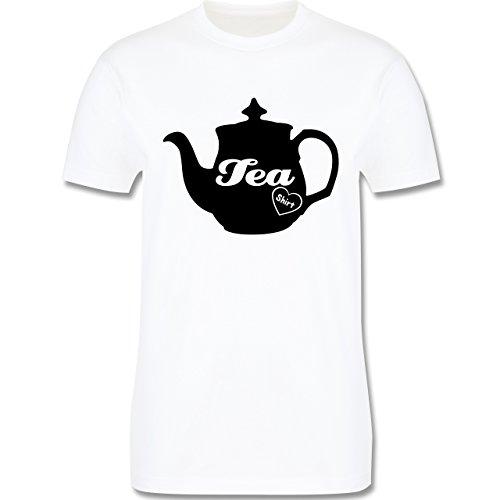 Statement Shirts - Tea-Shirt - Herren Premium T-Shirt Weiß
