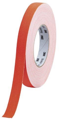 Scotch 9545N NOR Gewebeband, 1 Rolle, 19 mm x 50 m, neon orange