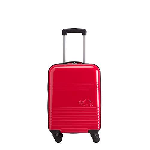 CARPISA Tea Trolley Piccolo Rigido - Bagaglio a Mano di Prima Qualità con Ruote Multidirezionali - Misure 35x54x20cm [S-Size] - Composizione ABS/Policarbonato - Leggero, Estremamente Resistente