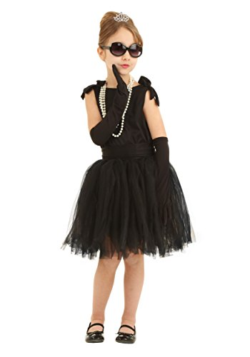 Child Breakfast at Tiffany's Holly Golightly Fancy Dress Costume ()