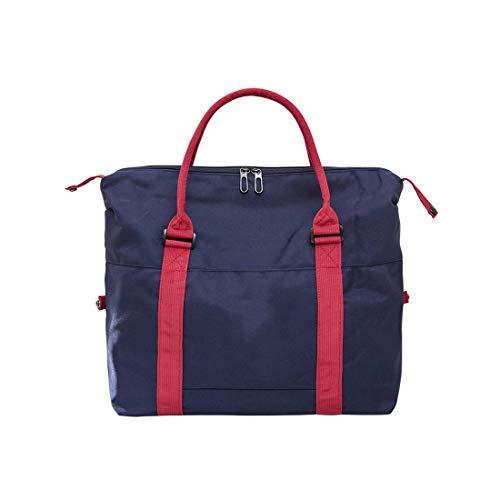 RMXMY Gepäcktasche weibliche Kurzstreckennetz rote Reisetasche männlich koreanische Version der leichtgewichtigen Fitness-Handgepäck-Reisetasche mit großem Fassungsvermögen