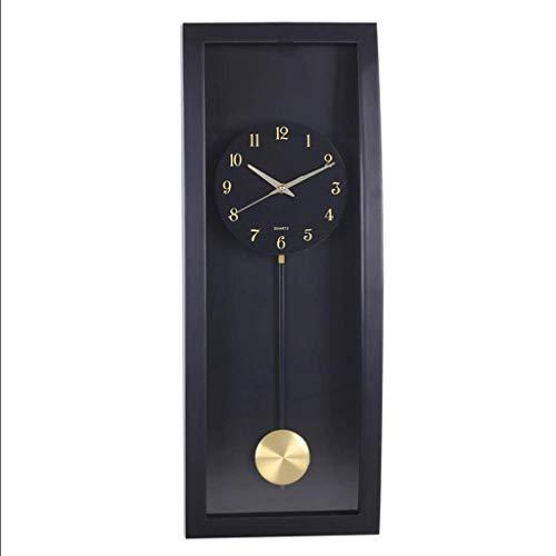 Lbfkj orologio da parete personalizzato soggiorno pendolo moderno arco clock -