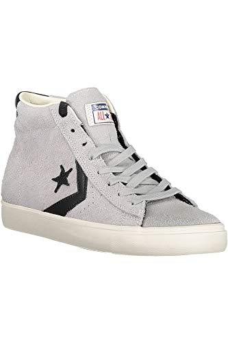 Converse Unisex-Erwachsene Lifestyle Pro Leather Vulc Mid Sneakers  Mehrfarbig (Ghost Grey Black cb258593b