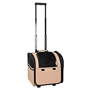 Wheeled-Airline-Approved-Travel-Pet-Carrier
