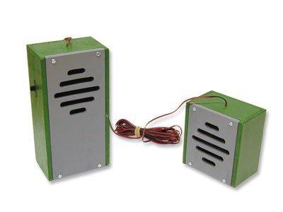 Preisvergleich Produktbild matches21 Gegensprechanlage Kabel Funkgeräte Elektronik Bausatz f. Kinder Werkset Bastelset ab 13 Jahren