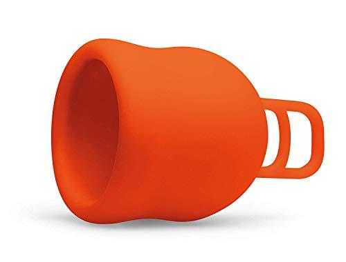 Merula Cup XL fox (orange) - Die Menstruationstasse für die sehr starken Tage - 2