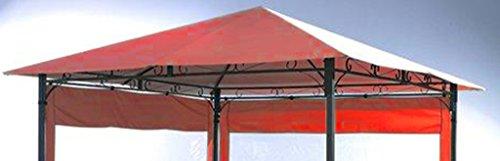 Grasekamp Ersatzdach zu Gartenpavillon Antik Pavillon Partyzelt 3x3m Terra