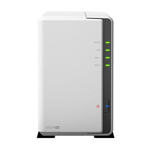 Synology DS216se 6TB DiskStation NAS Server 2-bay, 2x 3TB Festplatten integriert