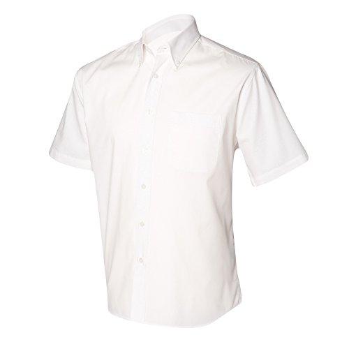 Henbury - Chemise à manches courtes - Homme Bleu clair