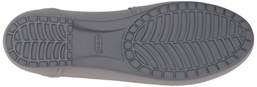 crocs Damen Marincolorliteflatw Slingback Smoke/Graphite