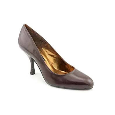 Chinese Laundry Yanni Womens Brown Leather Pumps Heels Shoes Size